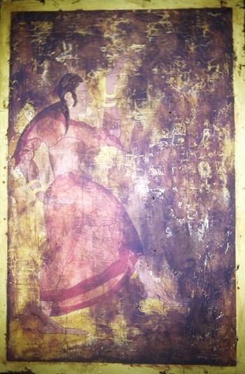 ANGELO TZIARA - ETRUSCAN DANCER, 1992
